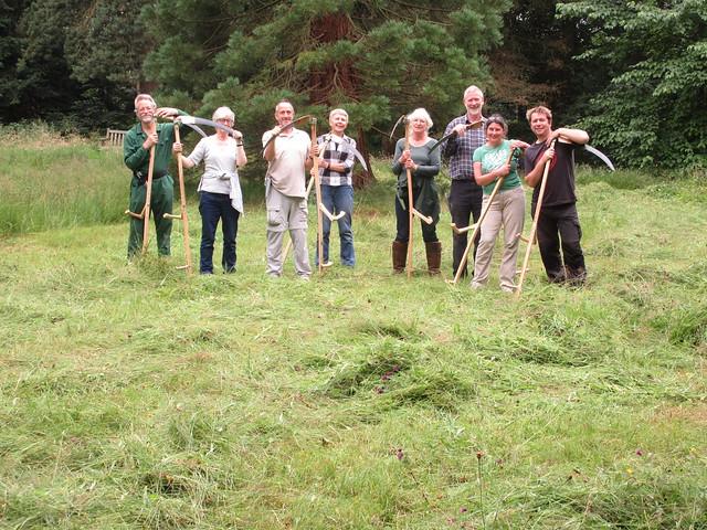 Learn to scythe course Harrogate