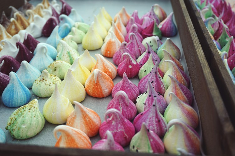 Gluten free meringue treats from Meringue Girls | gluten free Broadway Market guide | Hackney, London