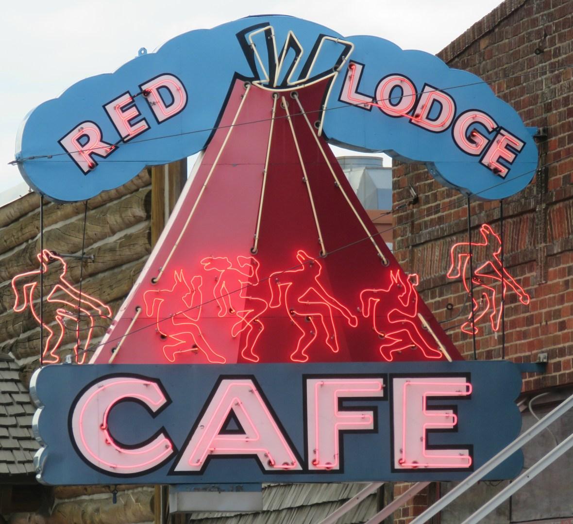 Red Lodge Cafe - 16 Broadway Avenue, Red Lodge, Montana U.S.A. - June 15, 2016