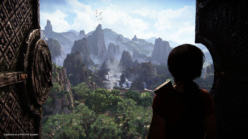 Uncharted: The Lost Legacy Western Ghats Gameplay