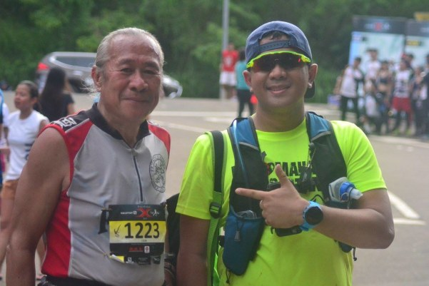 Mang Ramon has to be among my trail idol. At 60+, he still frequents the trails and was even leading me for most parts of the trail.