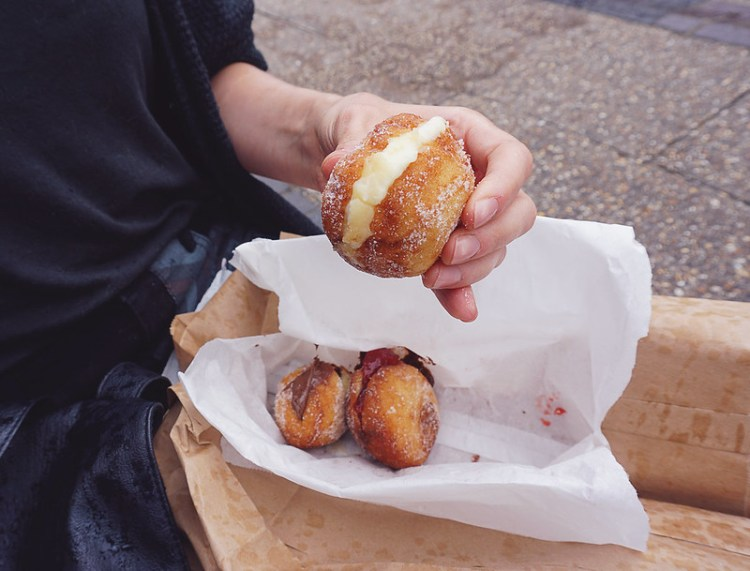 Gluten free doughnuts from Floris Bakery in Stroud Green Market | Floris Foods | Gluten free Stroud Green Market guide | Finsbury Park | Crouch Hill | North London