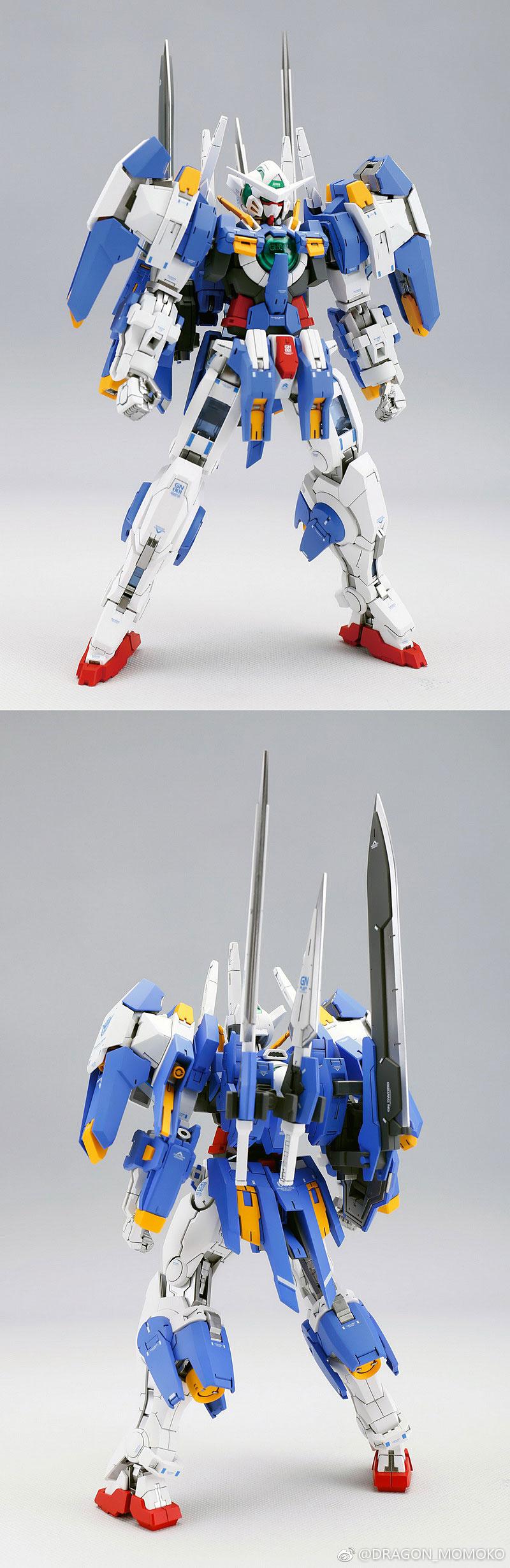 龍桃子新作「MG 能天使鋼彈雪崩型 MB版」樣本照公開 - orz750201的創作 - 巴哈姆特