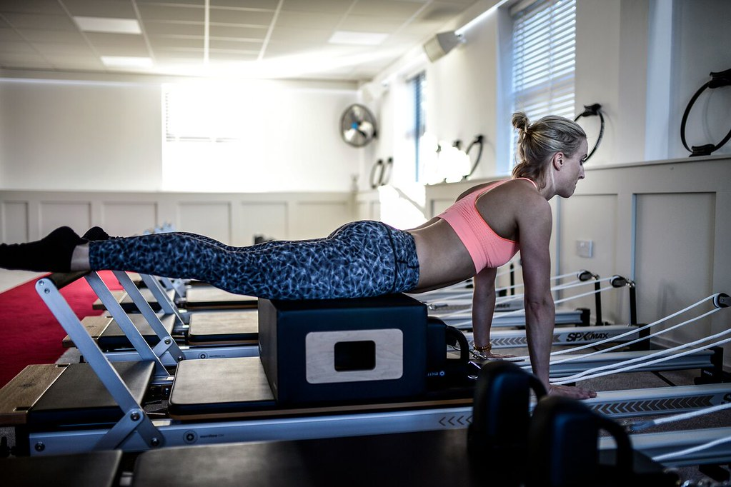 Reformer Pilates Photography  Swan Dive Exercise  Free