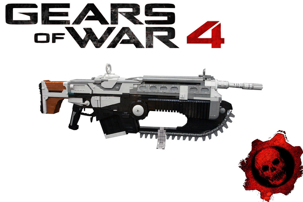 Slay The Locust Horde With A 5000 Piece LEGO Gears Of War