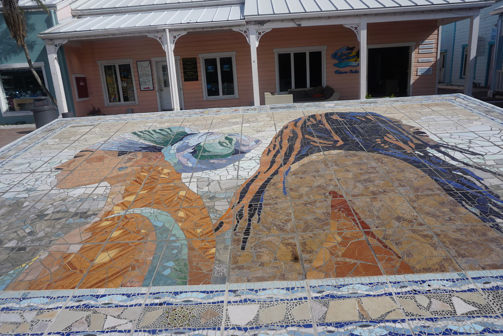 grand bahama island mural