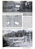 """Covered Wagon Ferry Restored in Wyoming"" 