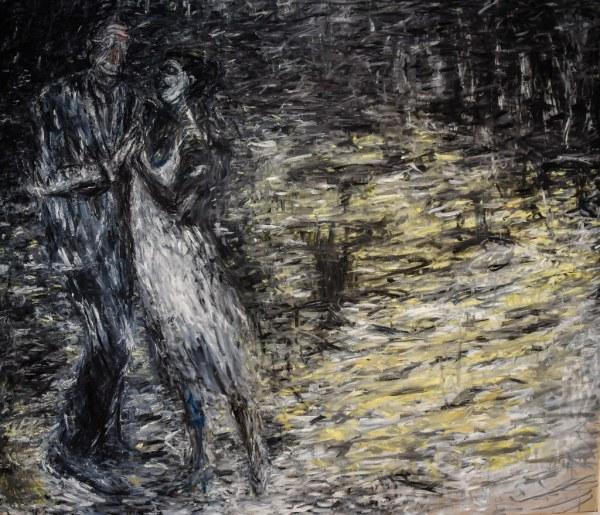 Susan Rothenberg - Mondrian Dancing 1985 Saint Louis
