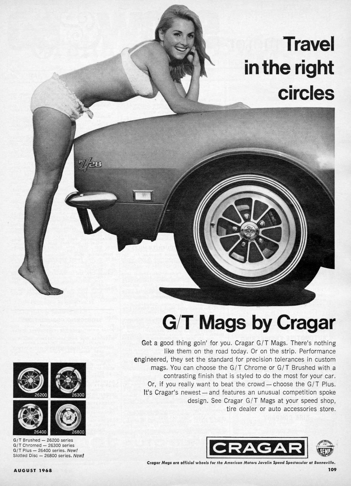 Cragar - August 1968