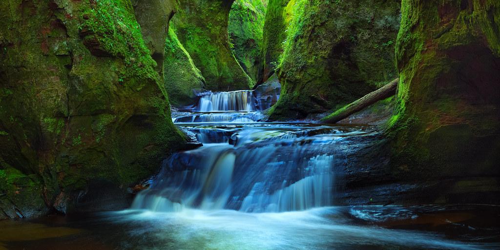 Beautiful Fall Scenes Wallpaper Finnich Glen Finnich Glen Scotland Is A Favourite