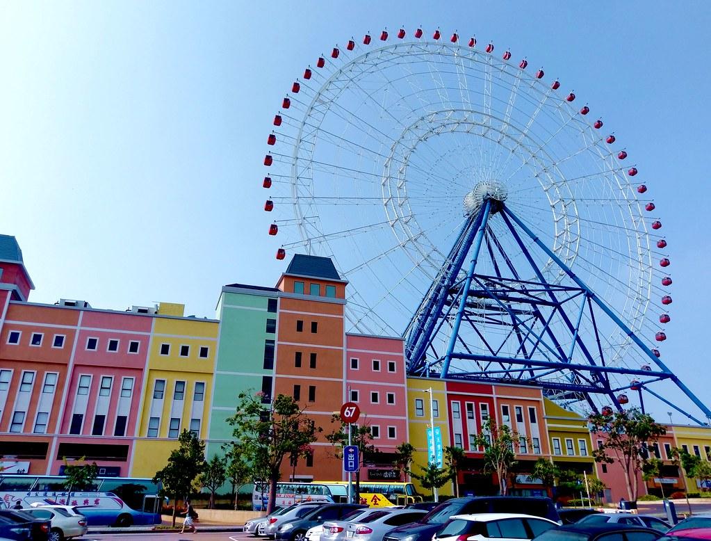 麗寶Outlet摩天輪-Ferries wheel in Lihpao Resort, Houli, Taichun… | Flickr
