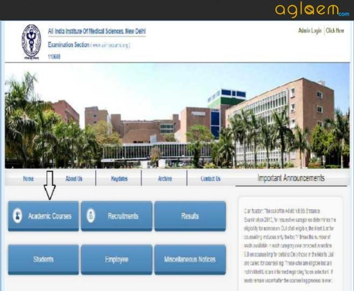 AIIMS DM MCh MHA 2018 Application Form: Apply Now