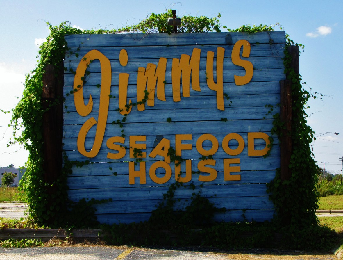 Jimmy's Seafood House - 1933 North Roberts Avenue, Lumberton, North Carolina U.S.A. - September 4, 2017