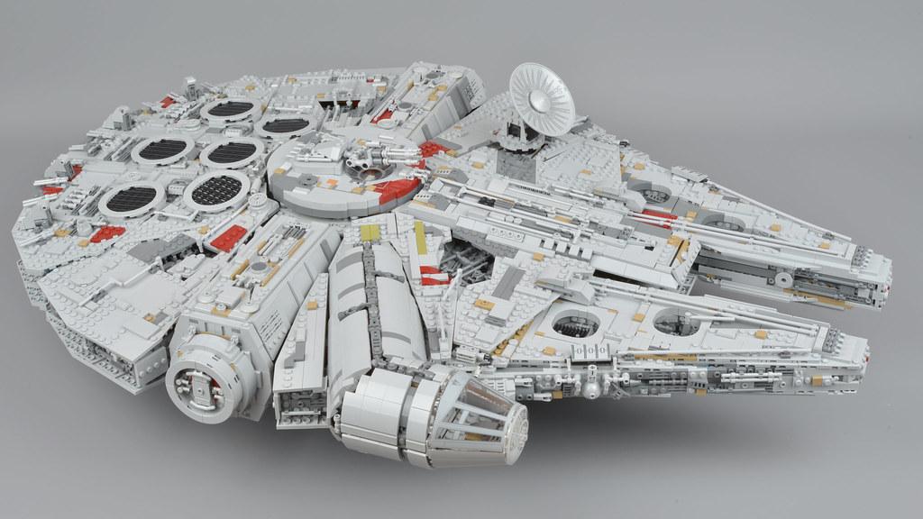 Lego Star Wars 75192 Millennium Falcon Review Brickset