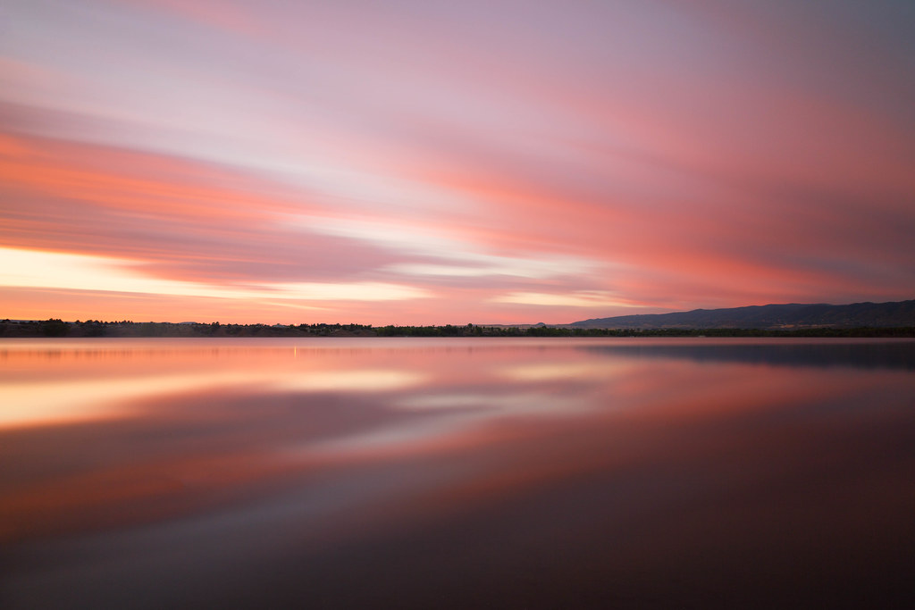3d 3d Wallpaper Pink Sky Chatfield State Park Colorado Michael Levine