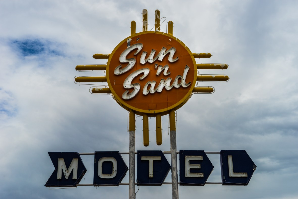 Sun 'n Sand Motel - 2026 Route 66, Santa Rosa, New Mexico U.S.A. - August 20, 2017