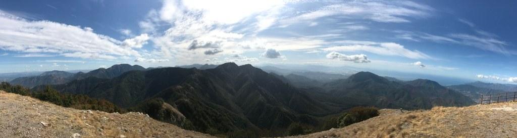 vista panoramica del pizzo sa michelle in monti picentini
