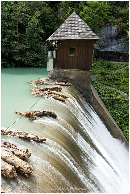 Dam in de Klammsee.