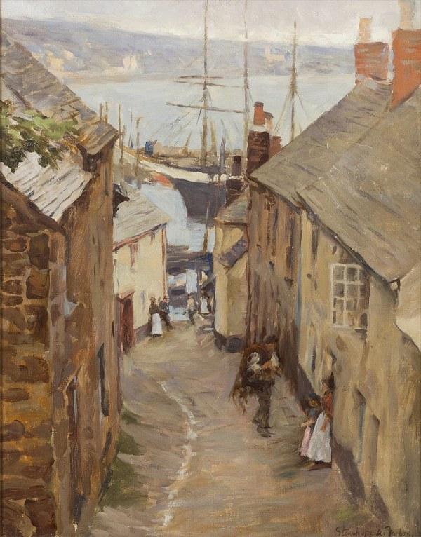 Stanhope Alexander Forbes - Newlyn Cornwall Trewarveneth