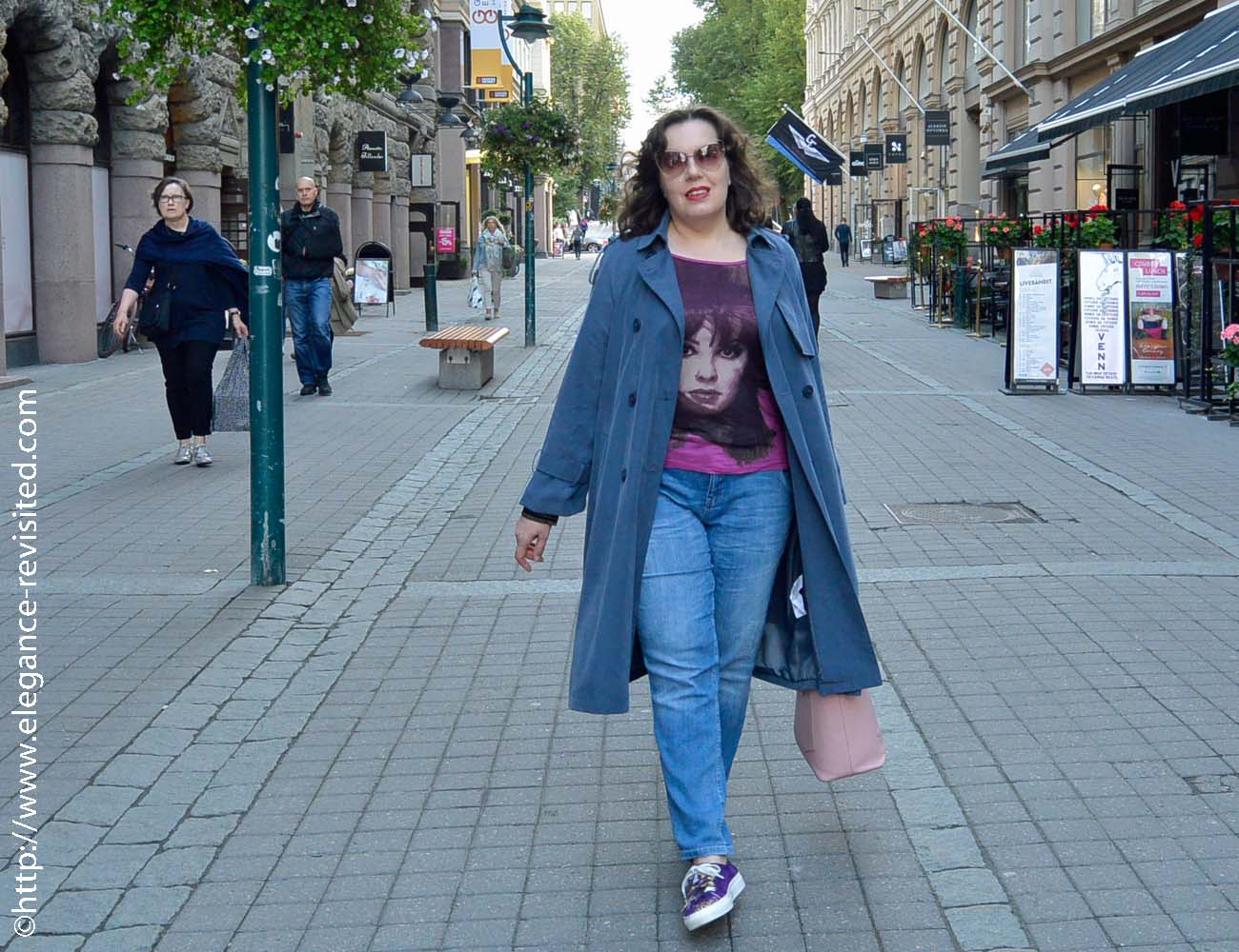 casual trench