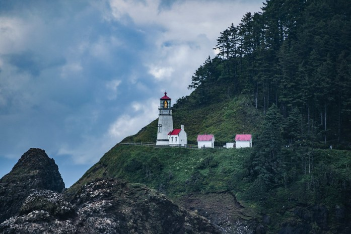Heceta Head Light - Costa de Oregon - a 21 km de Florence - Faros históricos