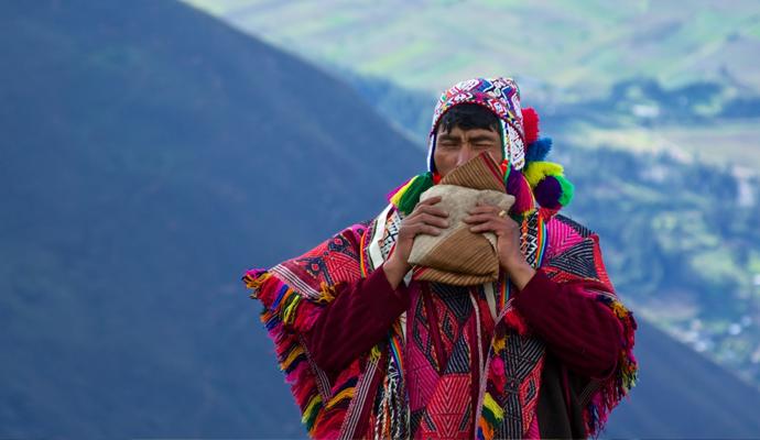Chamán en Los Andes. | © McKay.