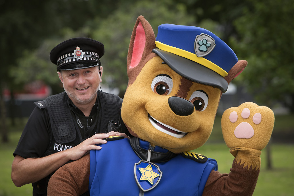 PAW Patrol in Manchester  Chase the police pup one of