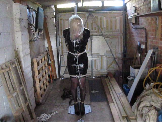 PatsyPVC Sissy Fetish Bondage CrossDressing Slut Outdoors   Flickr