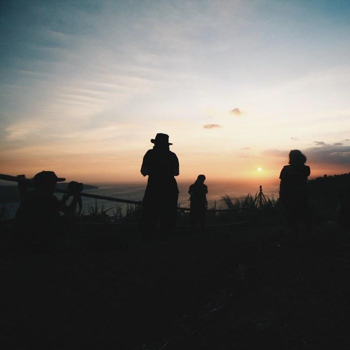 Sunset di Puncak Dharma