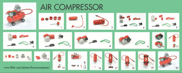instruction for the air compressor