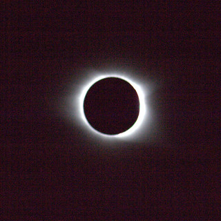 Total Eclipse over Greenville, SC