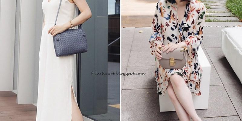 ▌Outfit ▌ 大花或極素,那些XY看不懂的衣服:Alice+Olivia洋裝 + Amanda Uprichard 連身褲