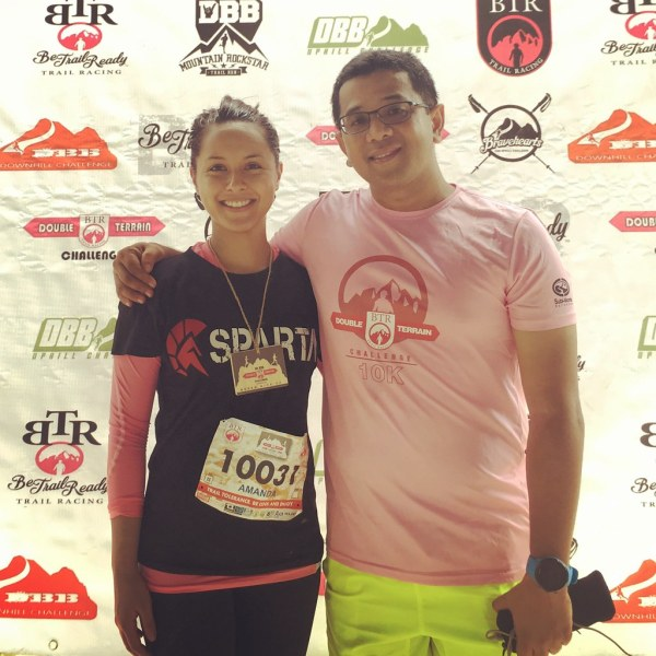 It was really nice influencing Amanda Fernandez of Solar Sports and Sparta to try out trail running and she also had a really memorable experience too.