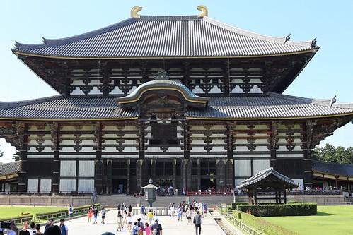 【2017日本京都七日訪】奈良東大寺。世界最大的木造建築