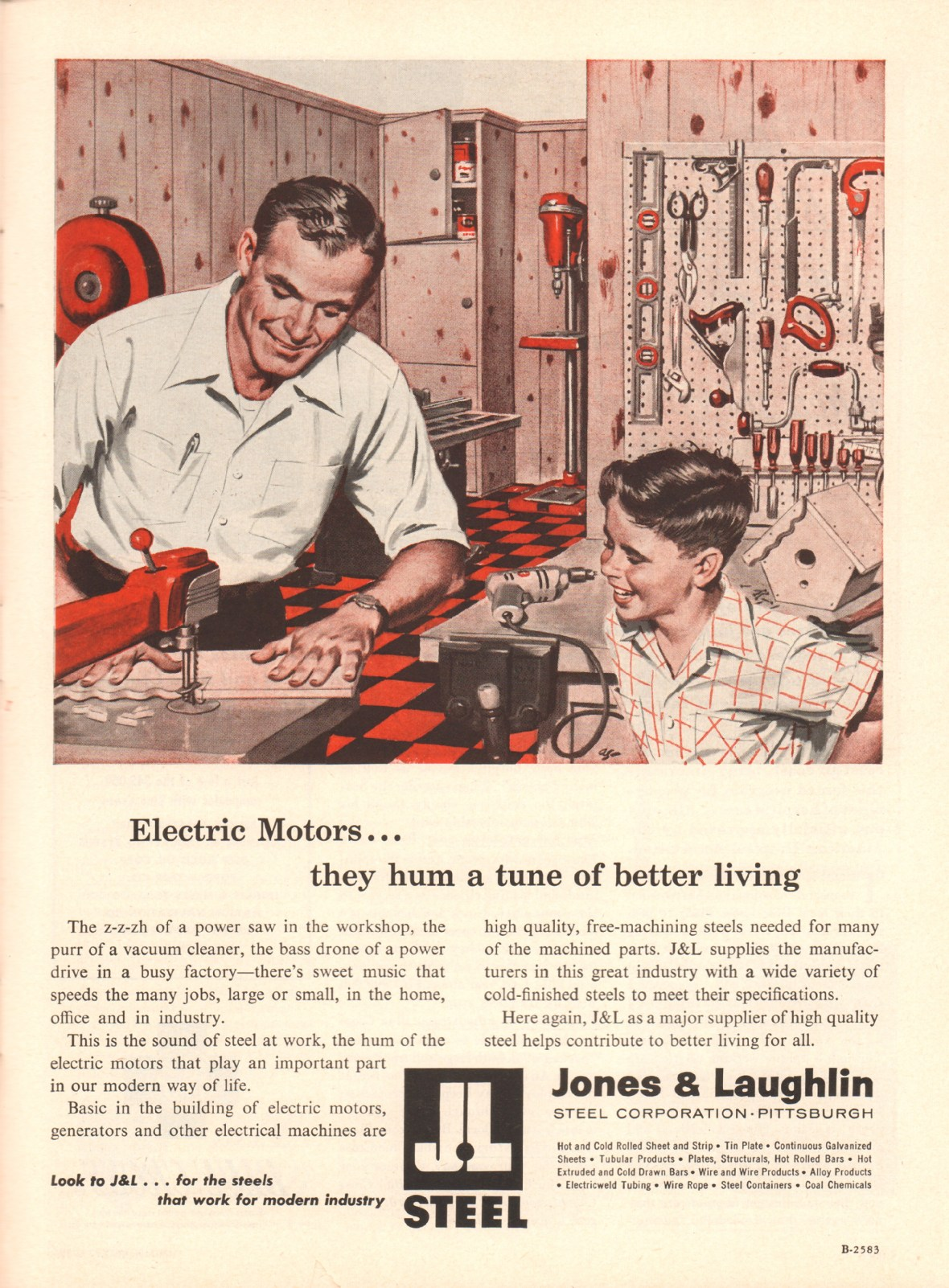 Jones and Laughlin Steel Corporation - published in Time - May 21, 1956