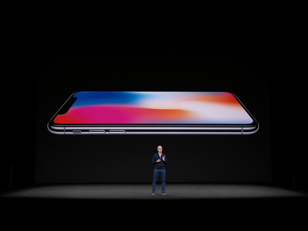 Apple Presentation Sharp New IPhone X Mark Mathosian