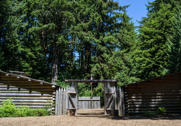 Fort Clatsop, Lewis and Clark National and State Historical Parks, Astoria, Oregon