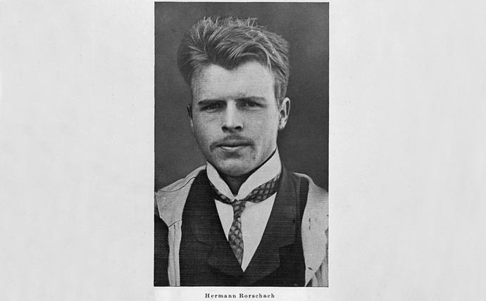 Retrato fotográfico del psiquiatra suizo en 1910.