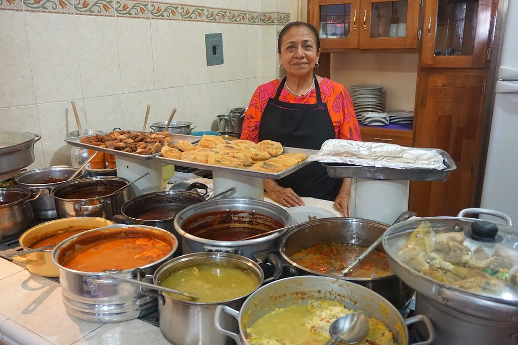 oaxaca mexico lunch tlacolula market