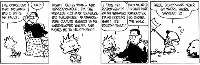Viñeta de Calvin & Hobbes | © Bill Watterson.
