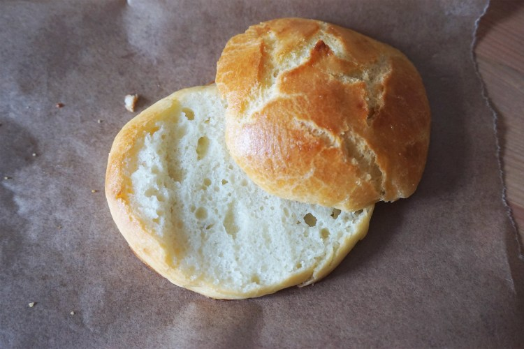 Gluten free brioche buns   burger buns   made with Doves Farm bread flour