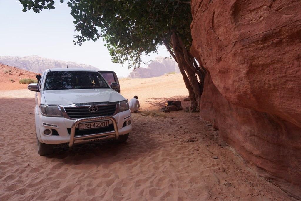 wadi rum lunch truck