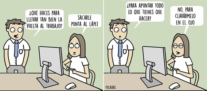 Síndrome postvacacional. | © P8ladas.