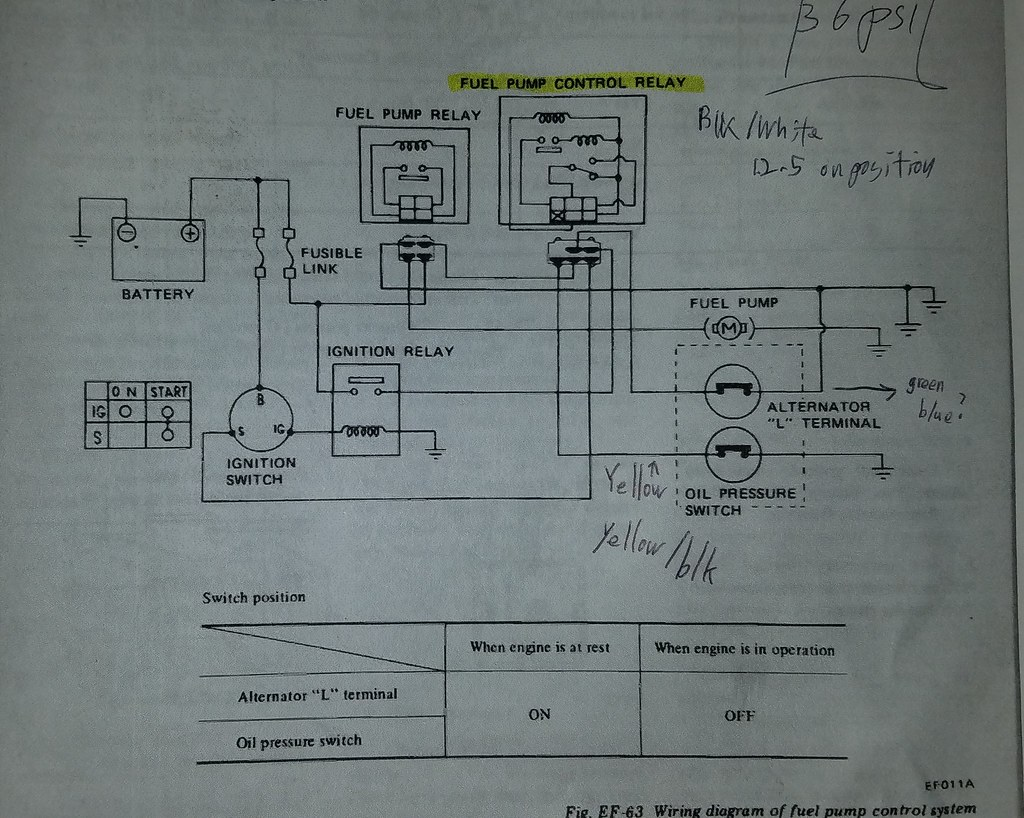 Fuel Pump Wiring Diagram Wiring Diagram
