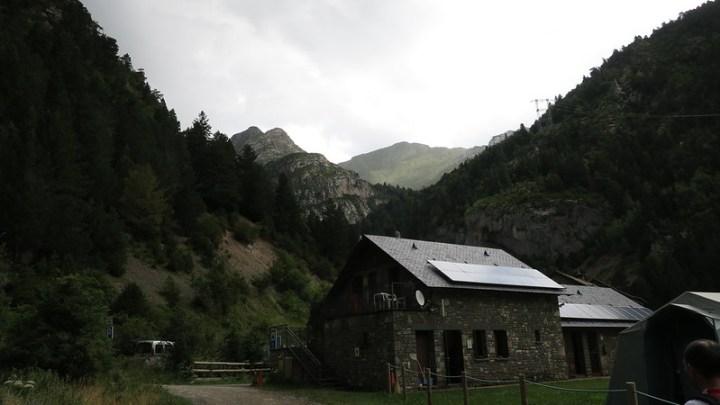 Dramatic light in Vale de Bujaruelo
