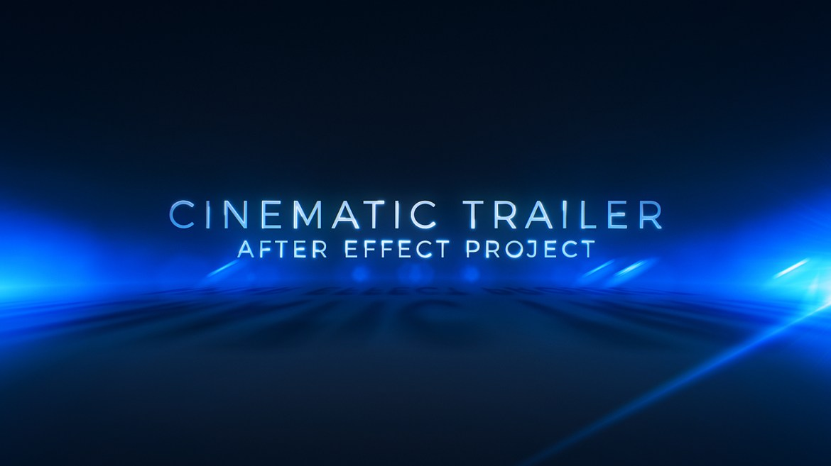 Cinematic Trailer Titles | Media Opener - 3