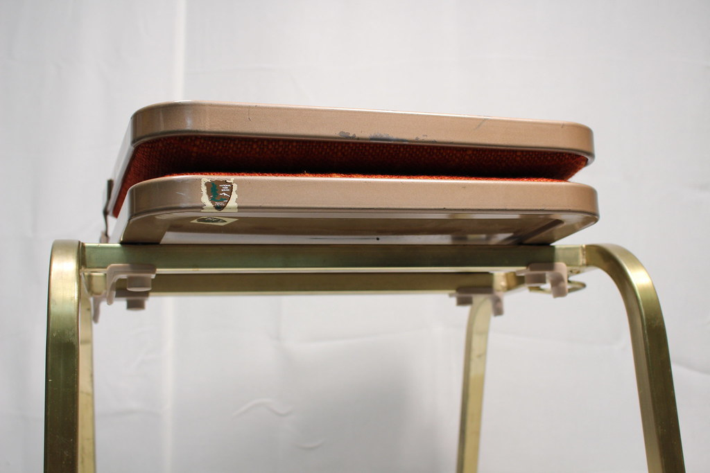 krueger folding chairs foam chair that turns into a bed stackable metal 3