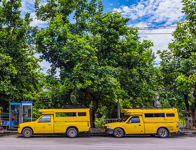 The Yellow Songthaew