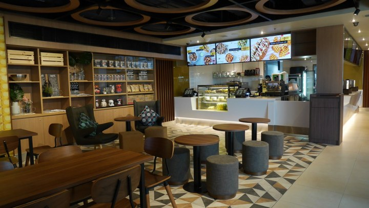 Walk-in patrons are more than welcome at GV Paya Lebar's grab & Gold cafe.