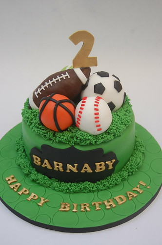 Sports Balls Cake Images